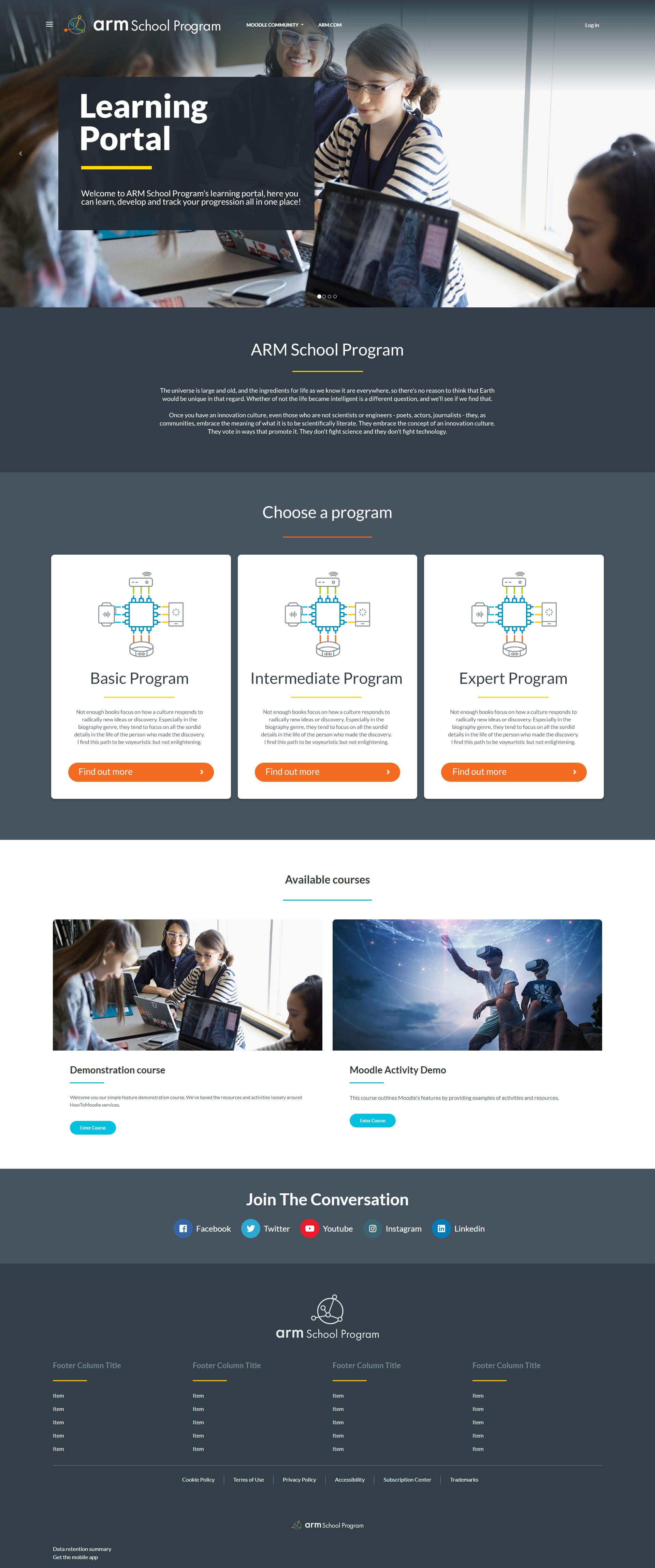 Design It - ARM School - Desktop