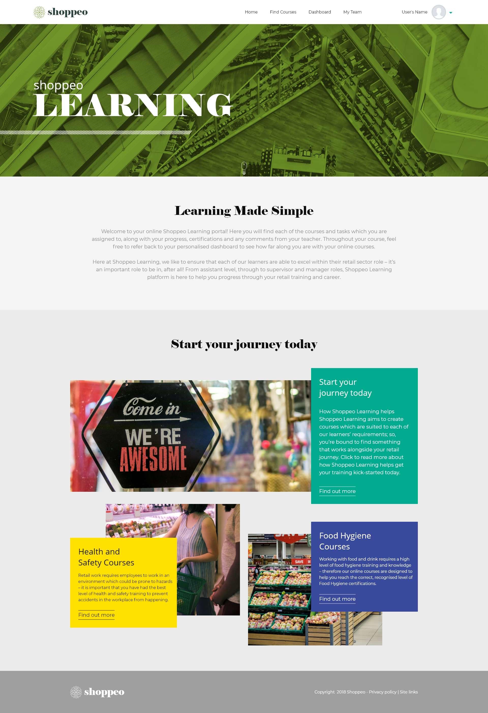 Design It - Shoppeo - Desktop