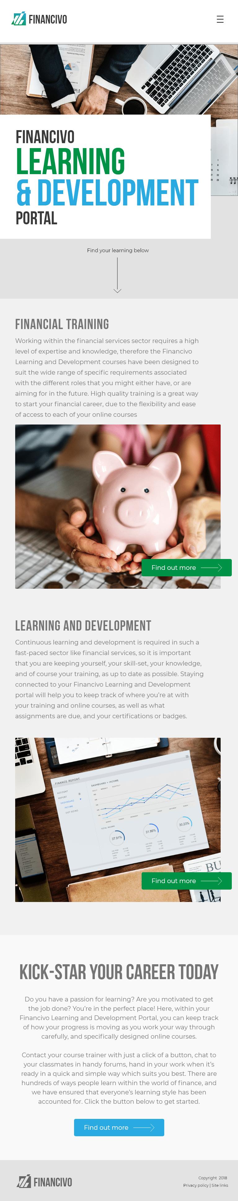 Financivo iPad-min