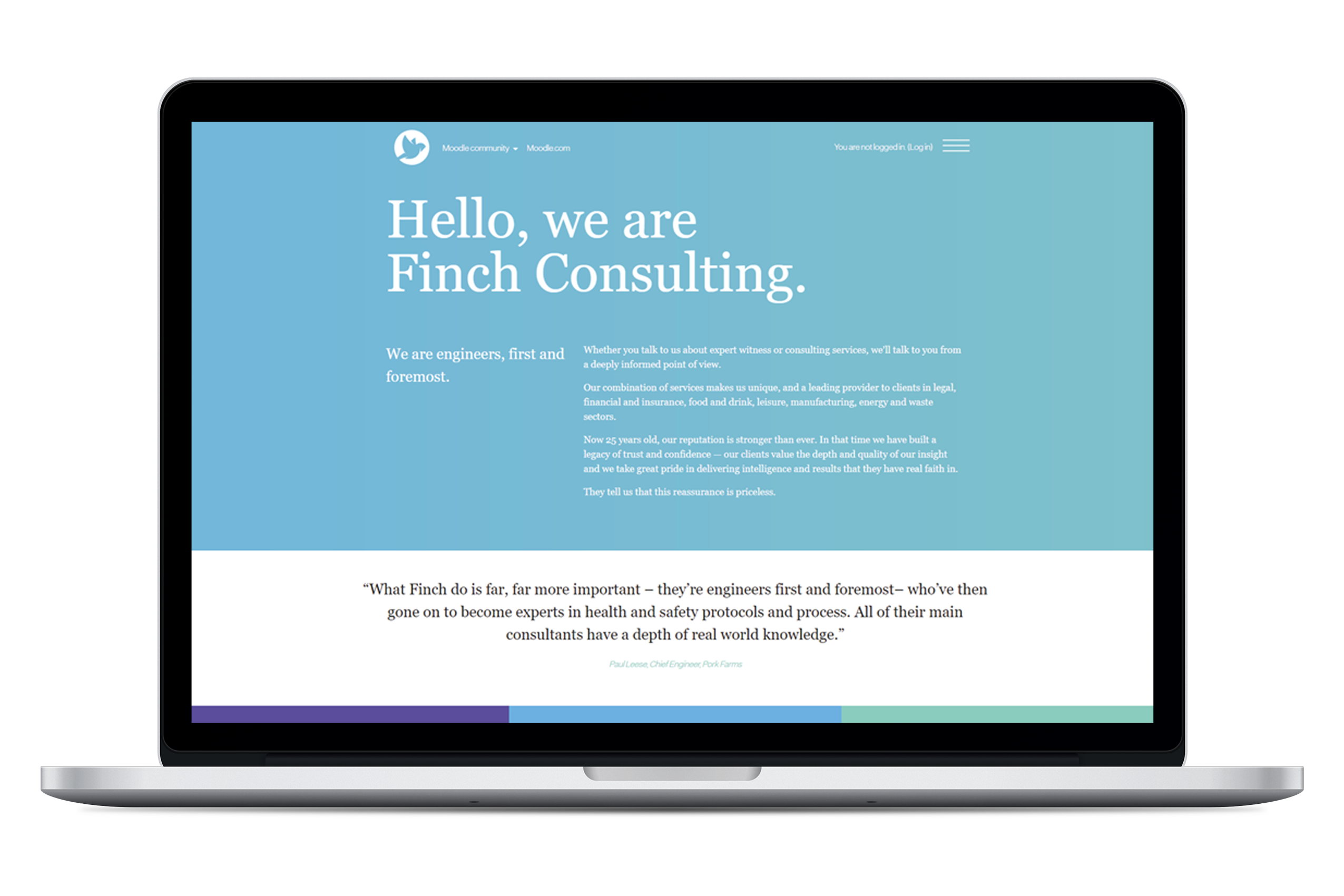 Finch Consulting - Moodle Site - LMS Case Study