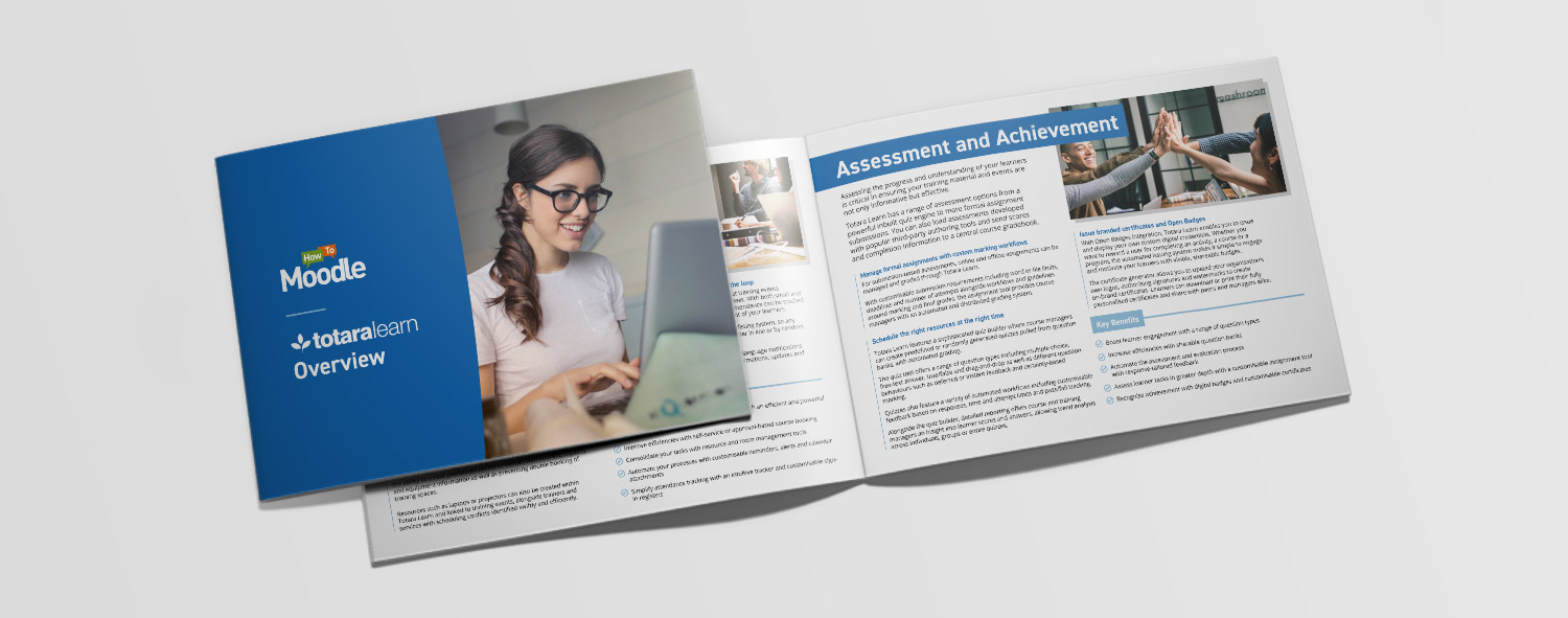 Totara Learn Overview eBook: Key features and benefits of Totara Learn - HowToMoodle