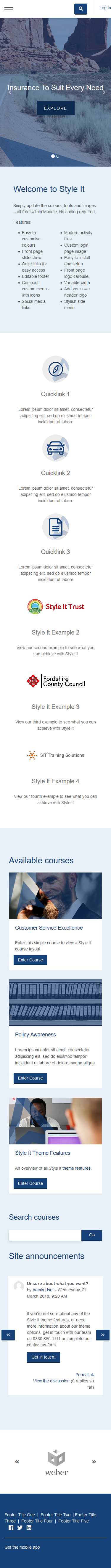 Style It - SIT Financial - Mobile
